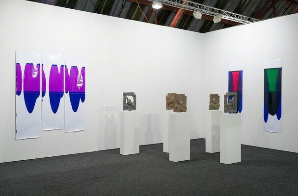 M+B at Art Los Angeles Contemporary 2016, installation view