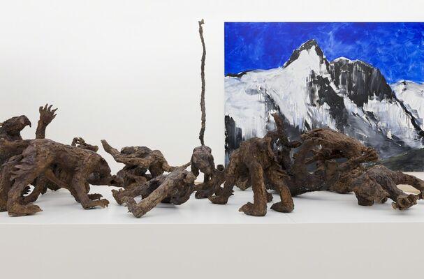 HERBERT BRANDL Schönes Leben, installation view