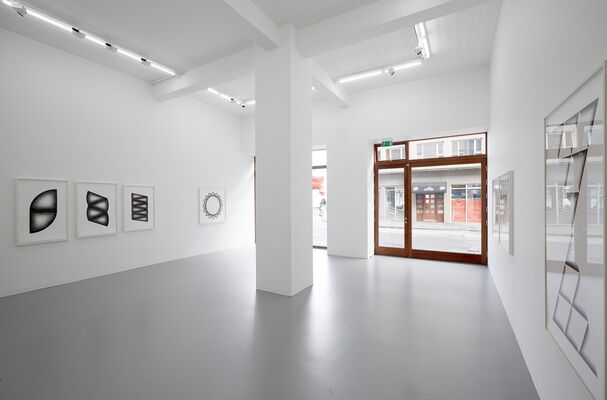Ignacio Uriarte: Divisions and Reflections, installation view