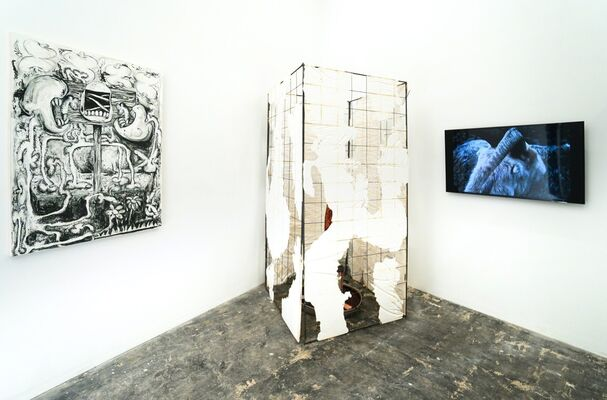 Topography of a Terrestrial Paradise, installation view