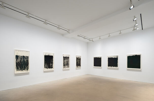 Richard Serra Drawings, installation view