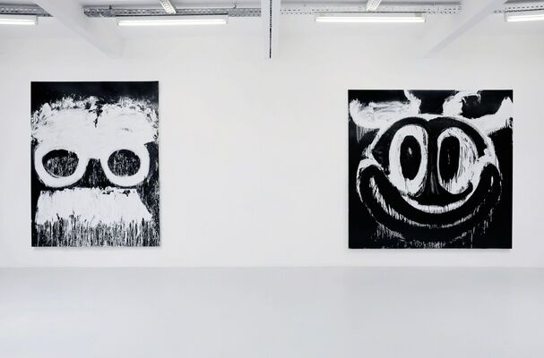 Joyce Pensato - Later is now, installation view