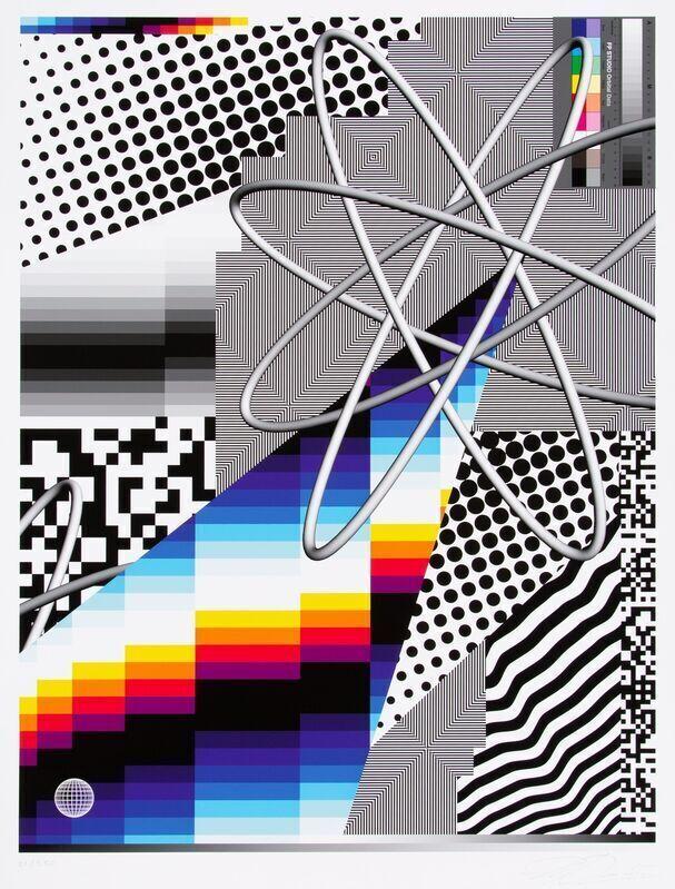 Felipe Pantone, 'OPTICHROMIE 122 ', 2020, Print, Hahnemuhle Photographic Rag 310gsm Giclee Print, Dope! Gallery