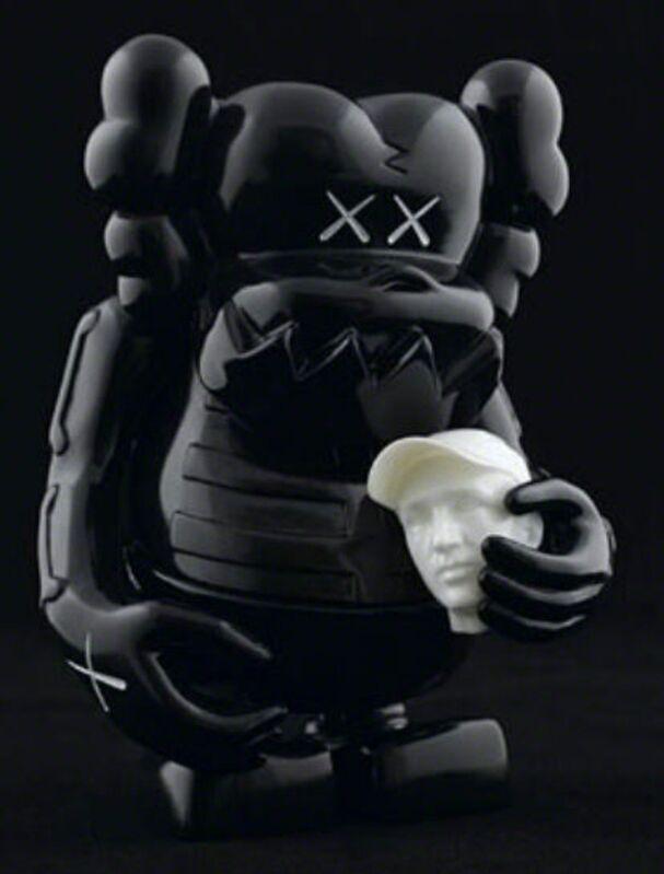KAWS, 'KAWS X BOUNTY HUNTER SKULL KUN BLACK', 2006, Sculpture, Painted Cast Vinyl, Marcel Katz Art