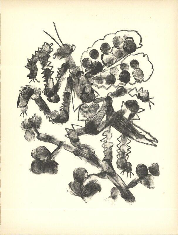 Pablo Picasso, 'De Memoire D'Homme VI', 1950, Print, Stone Lithograph, ArtWise