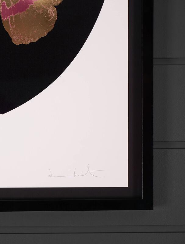 Damien Hirst, 'I Love You Black/Gold Butterfly ', 2015, Print, Silkscreen, Gold Leaf, Foil Block, Arton Contemporary