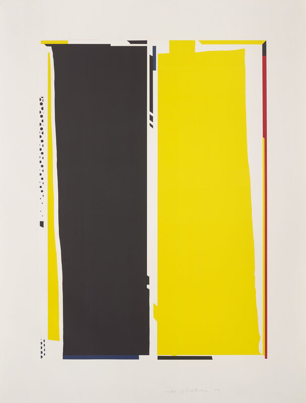 Roy Lichtenstein, 'Mirror #5, from Mirror Series', 1972, Print, Lithograph and screenprint in colours, on Arjomari paper, with full margins., Phillips
