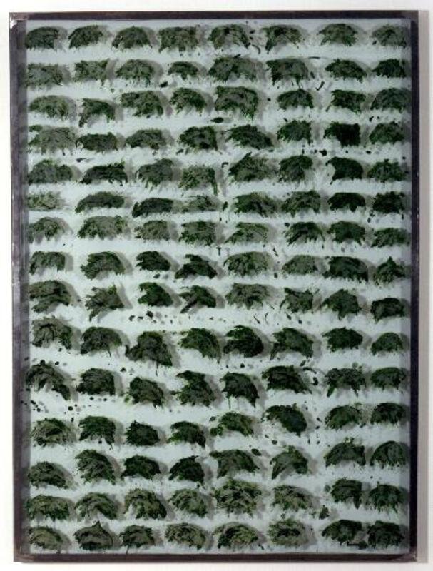 Gloria Friedmann, 'Pariah (Sauerampfer)', 1997, Sculpture, Sauerampfer, sugar, glass and iron, Annely Juda Fine Art