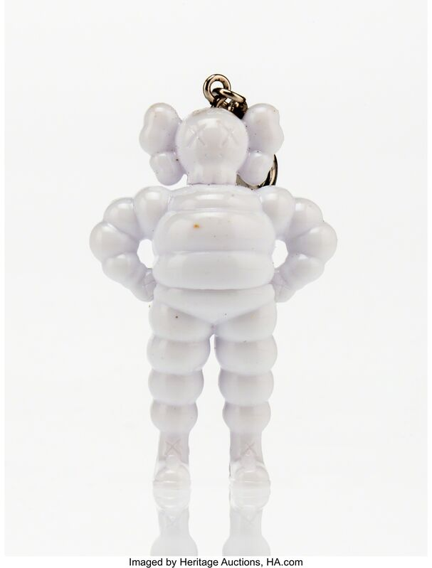 KAWS, 'Chum Keychain (White)', 2009, Other, Painted cast vinyl, Heritage Auctions