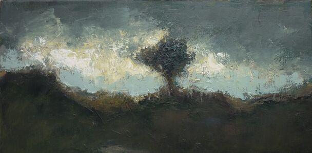 Albert Hadjiganev, 'Arbre à l'horizon'