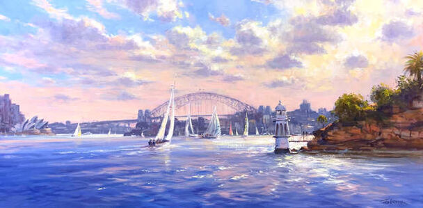 Ted Lewis, 'From Cremorne Point', 2020