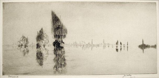 James McBey, 'Laguna Veneta', 1926