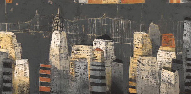 Paul Balmer, 'Manhattan Night '