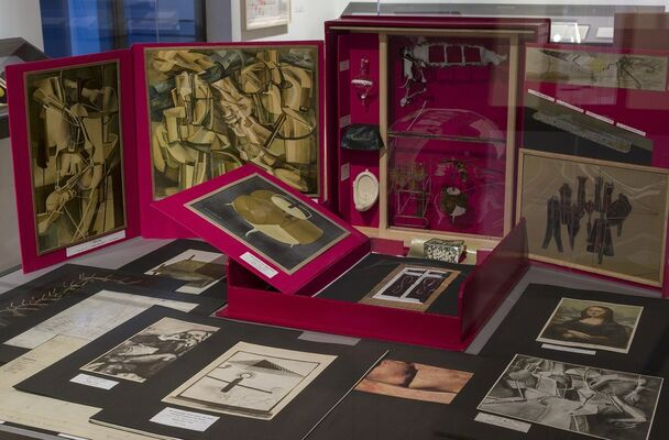 A Marcel Duchamp Collection, installation view