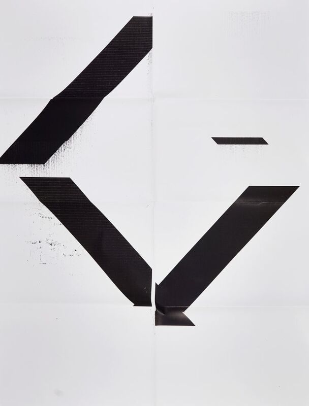 Wade Guyton, 'Untitled', 2007, Posters, X poster, Epson Ultrachrome inkjet on linen, hand-folded with archival UV curable inks, Roseberys