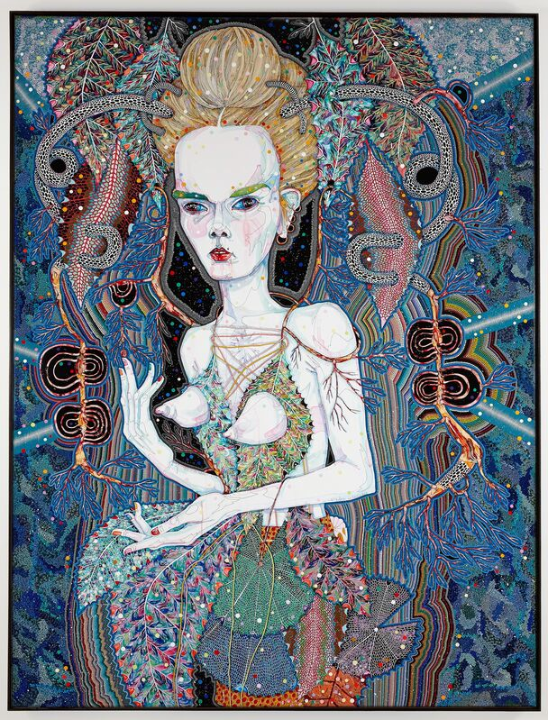 Del Kathryn Barton, 'that is its nature', 2013, Painting, Synthetic polymer paint and gouache on polyester canvas, Roslyn Oxley9 Gallery