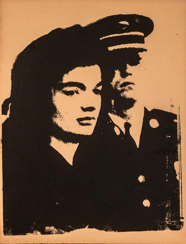 Andy Warhol, 'Jackie', 1964, Print, Silkscreen on cardboard, Leclere