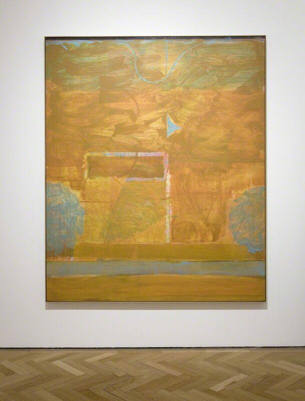 Matthew Burrows, 'Oasis', 2016, Painting, Oil on board, Vigo Gallery