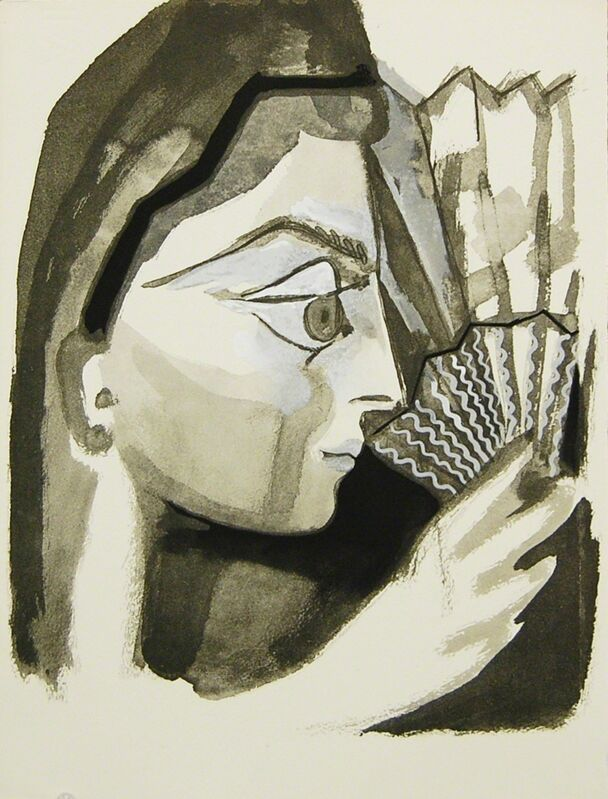 Pablo Picasso, 'Untitled I', 1949, Reproduction, Aquatint on Arches paper, Baterbys