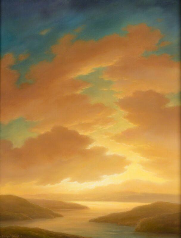 Jane Bloodgood-Abrams, 'Illuminated', 2015, Painting, Oil on board, Christopher-Clark Fine Art