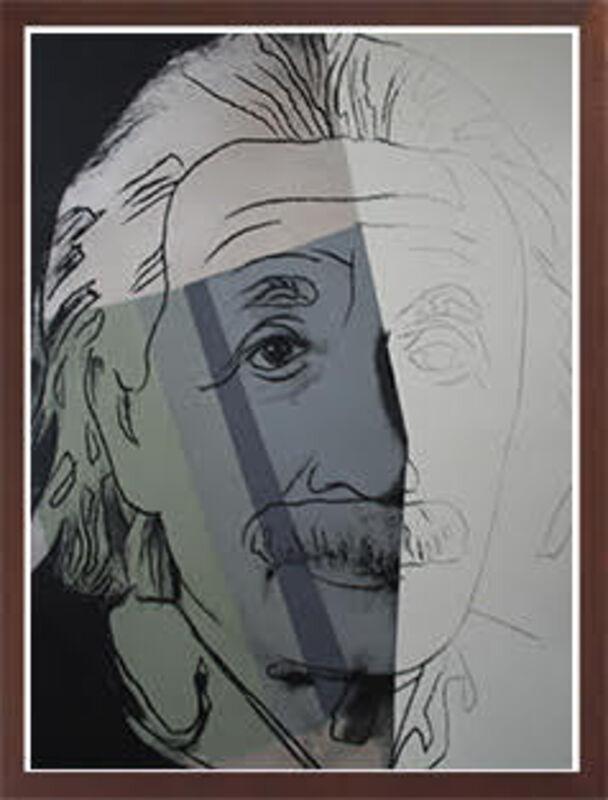 Andy Warhol, 'ALBERT EINSTEIN (F&S.II.229)', 1980, Print, Screenprint in colors on Lenox Museum Board, Robin Rile Fine Art