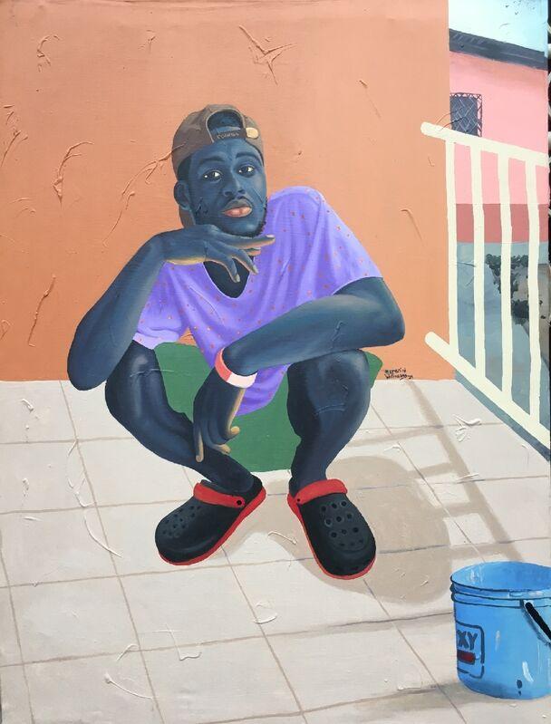 Merenini Williams, 'Uninterested', 2021, Painting, Acrylic on canvas,  TAAG Gallery