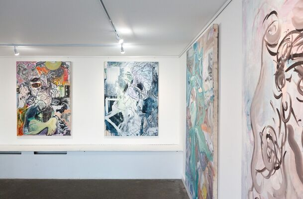 Felix Carr: Only My Right Hand is Mine, installation view