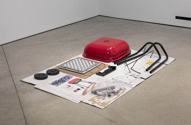Miles Huston The Style: Dweller On the Threshold, installation view