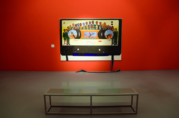 Five Bhobh – Painting at the End of an Era, installation view