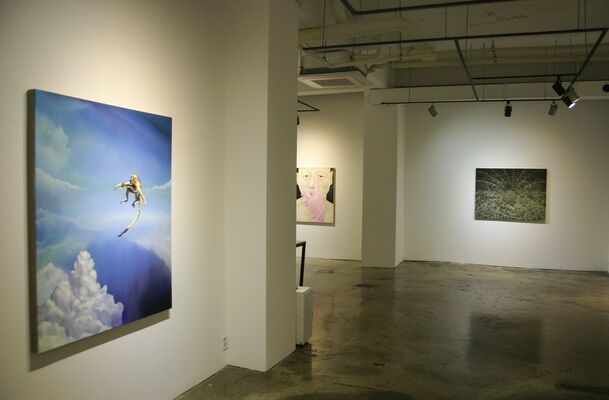 Summer Forest, installation view