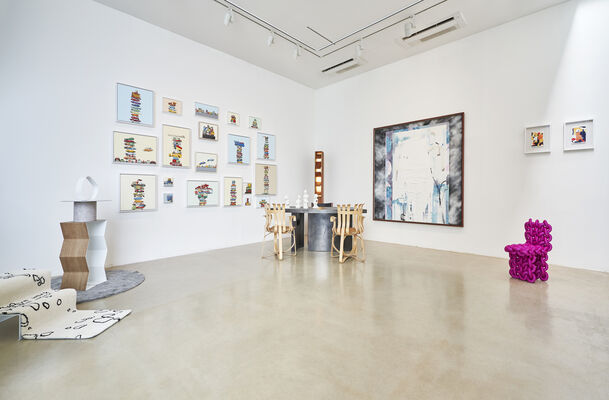 Season's Greetings: Peace, joy and love to 2020, installation view