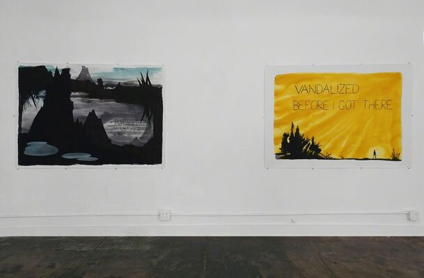 What If? Wall Batterton, Senon Williams, Matthew Rosenquist, installation view