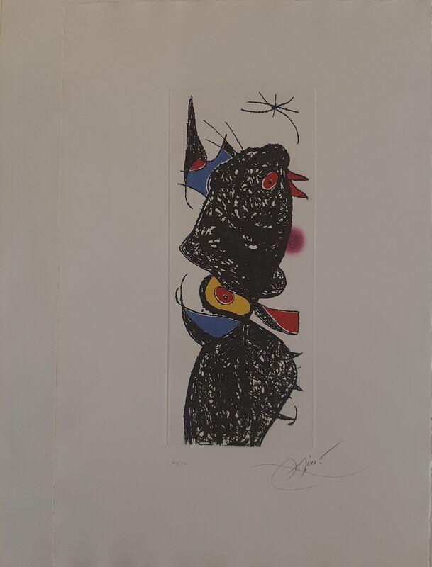 Joan Miró, 'Le Coq de Bruyère', 1975, Print, Galeria Cortina
