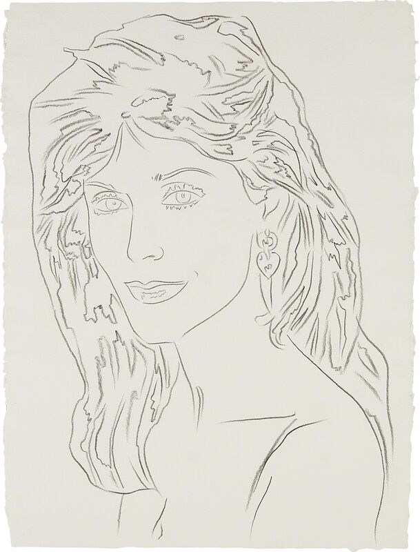 Andy Warhol, 'Unidentified Woman', 1986, Drawing, Collage or other Work on Paper, Graphite on HMP paper, Phillips