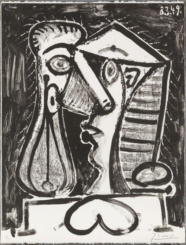 Pablo Picasso, 'Figure Composée II', 1949, Print, Lithograph, Christopher-Clark Fine Art