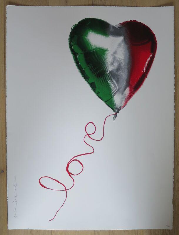 Mr. Brainwash, 'I Love Italy', 2020, Posters, Paper,  Street Art Power