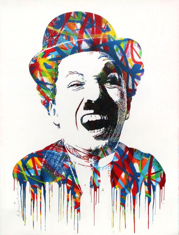 Mr. Brainwash, 'Charlie', 2015, Print, Silkscreen on paper, DANE FINE ART