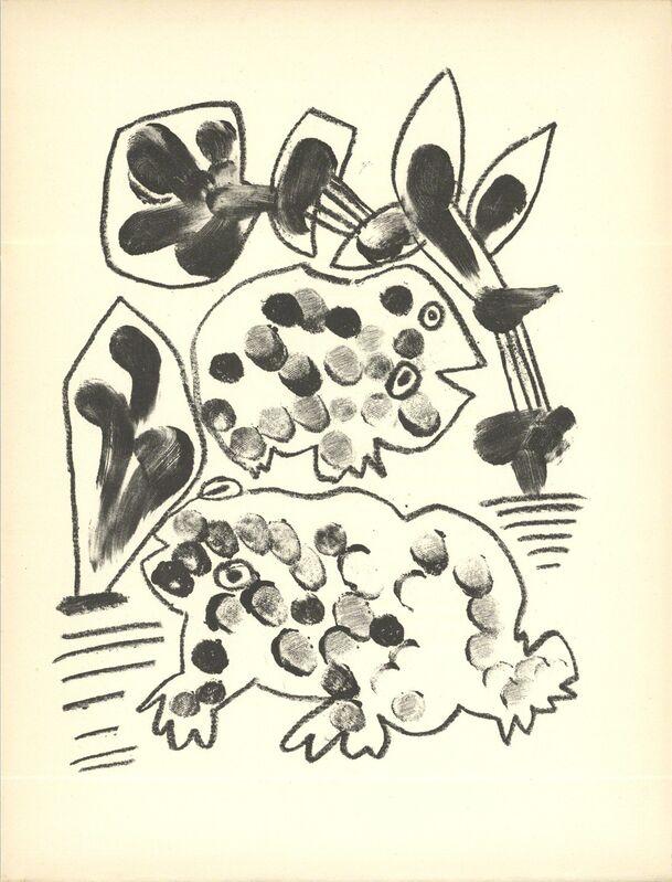 Pablo Picasso, 'De Memoire D'Homme VIII', 1950, Print, Stone Lithograph, ArtWise