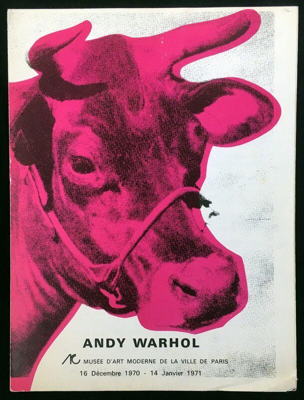 Andy Warhol, 'Andy Warhol Musee d'Art Moderne Catalog', 1970, Ephemera or Merchandise, Offset printed, Lot 180