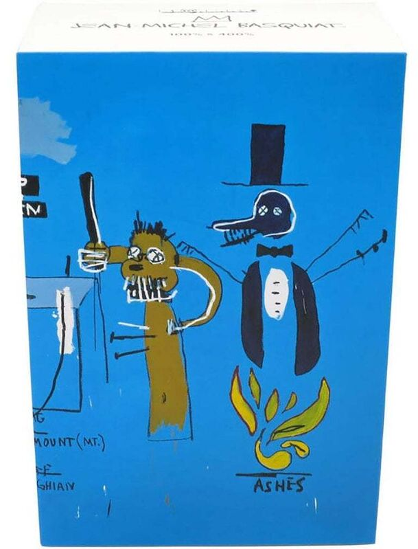 Jean-Michel Basquiat, 'Basquiat Bearbrick 1000% (Basquiat BE@RBRICK)', 2019, Ephemera or Merchandise, Painted Cast Vinyl figure, Lot 180