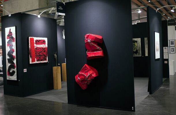BAM Gallery at Art Up ! Lille 2019, installation view