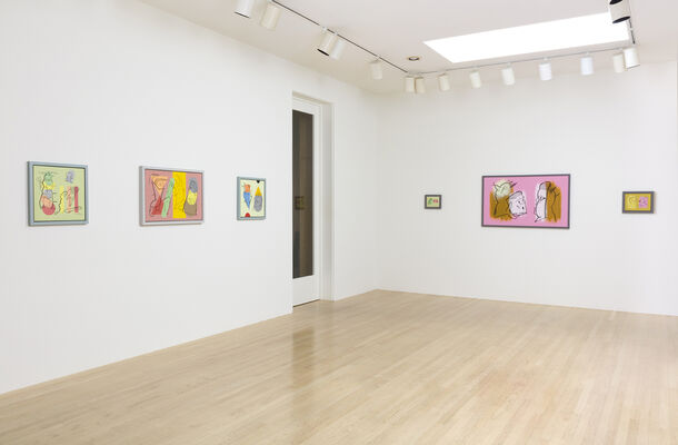 Don Suggs: Face-Off, installation view