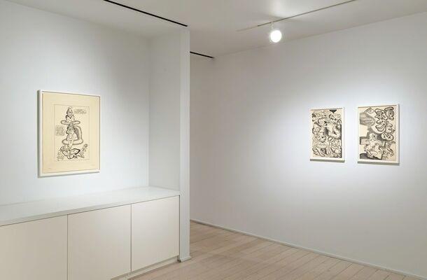 Peter Saul: Prints | 1966–2017, installation view