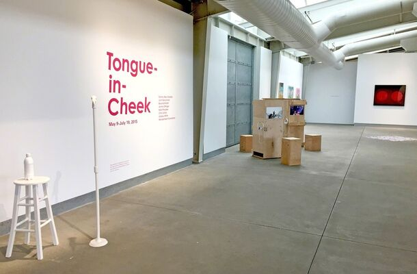 Tongue-in-Cheek, installation view