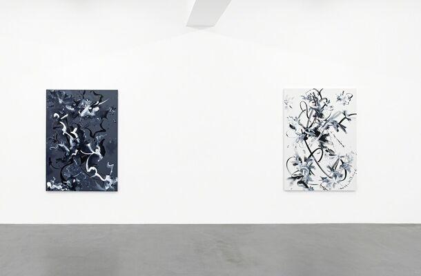 Fiona Rae, installation view