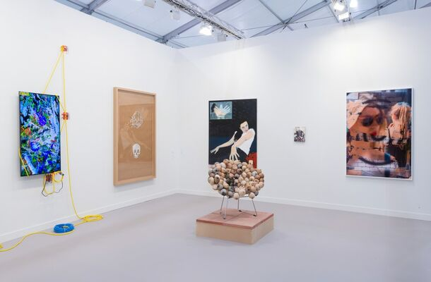 Sadie Coles HQ at Frieze Los Angeles 2019, installation view