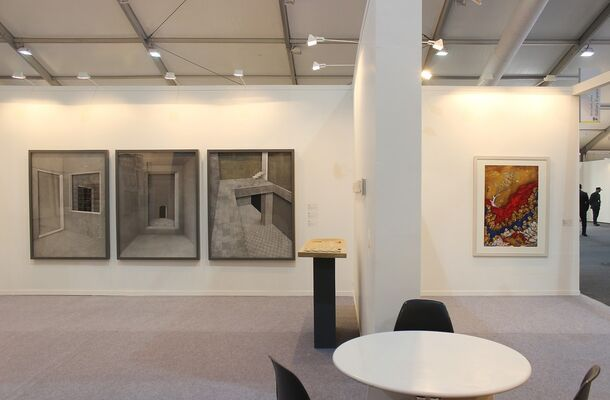 Gallery Espace at India Art Fair 2017, installation view