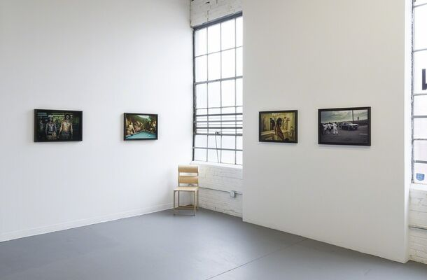The Gods, installation view