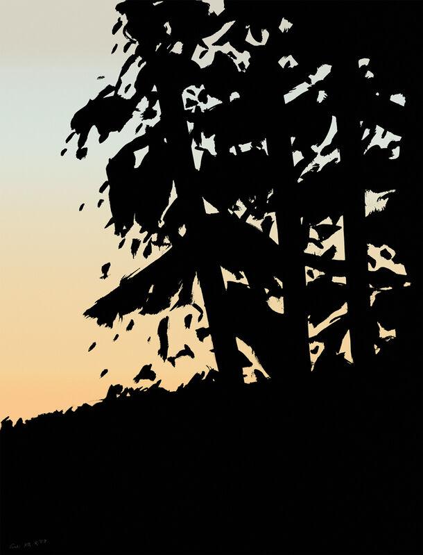 Alex Katz, 'Sunset 1', 2020, Print, Archival pigment ink on Innova Etching Cotton Rag 315 gsm fine art paper, New Art Editions
