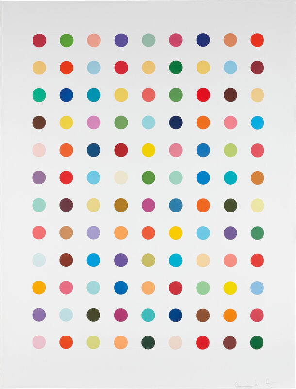 Damien Hirst, 'Flumequine', 2007, Print, Aquatint in colors, on Hahnemühle etching paper, with full margins., Phillips